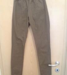 H&M zelene uske hlače - S