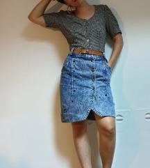 80s Vintage suknja