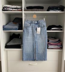 Zara traper suknja s etiketom
