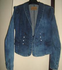 Ženska teksas jaknica, broj 38, NOVO