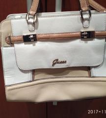Guess krem-bijela torba