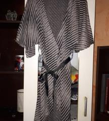 CarpeDiem haljina siva s crnim prugama M/L