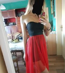Svecana asimetricna haljina
