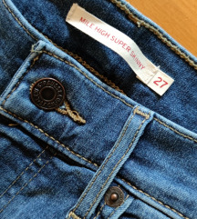 Levis Mile High traperice w27 l32