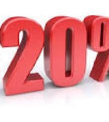 DANAS na sve artikle   popust 20%