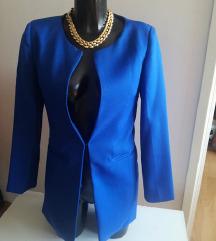Kraljevsko plavi duži sako