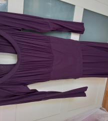 Sisley ljubičasta haljina