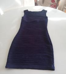 Nova tamnoplava uska haljina