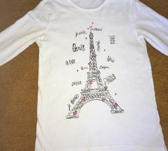 Bijela majica Paris