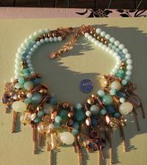 Dizajnerska ogrlica Teria Yabar