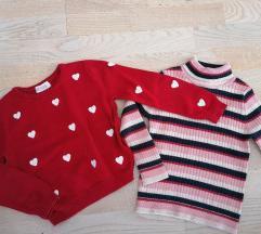 LOT pulovera za curke 98/104
