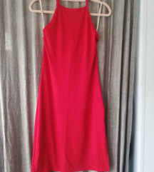 Ljetna crvena uska haljina/ PT uključena