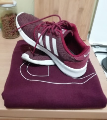 Lot majica i tenisice (Champion i Adidas)