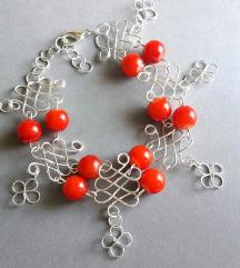 Unikatna jig narukvica od žice i perli