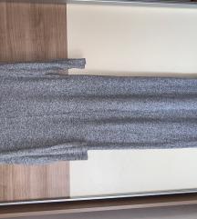 Siva uska haljina