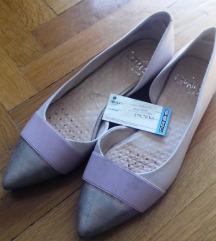 Nude cipele u špic