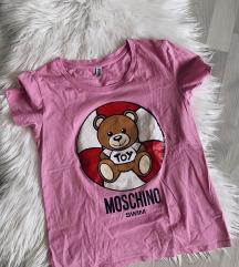 MOSCHINO swim original roza majica