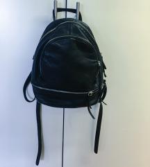 Liebeskind Lotta crni kožni ruksak