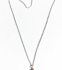 ESPRIT 925 srebrni lančić i srce privjesak