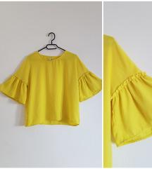 Stradivarius žuta majica