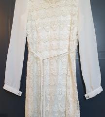 Čipkana haljina 😍❣