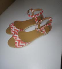 Sandale platnene