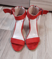 Sandale od brušene kože