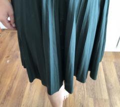 Bershka suknja plisirana