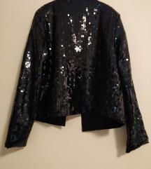 H&m sequin jakna vel S