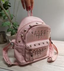Mini roza ruksak