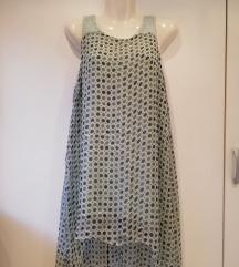 Preeedivna svilena haljina/ tunika