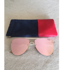 Le specs rose gold prince aviator naocale