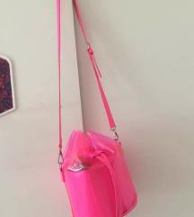 Pink neon torba