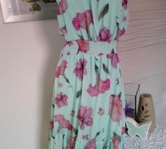 Predivna nova haljina uni s do L