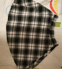 Mini karirana suknja XS/S