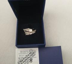 Swarovski prsten 2 u 1
