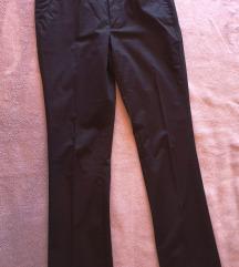 Crne fine Sisley hlače