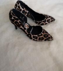 Leopard NOVE salonke s etiketom / štikle