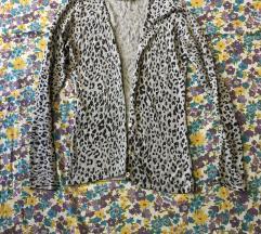 Zara leopard vestica xs s vel