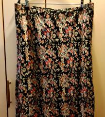 Bluoltre suknja, potpuno nova