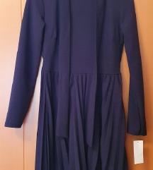 Haljina, zatvorena, dugih rukava