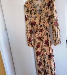 REZZ! Zara nova midi cvjetna haljina