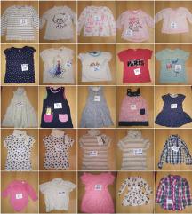 LOT 25 X robice odjeće za curicu 68 -122