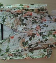Zara floral bluza