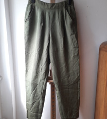 Svilene vintage hlače
