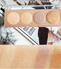 L'Oeral paleta highlighter