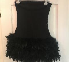Zara haljina sa perijem