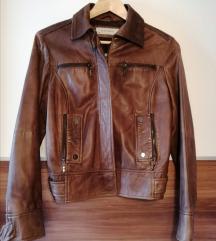 Zara jakna prava koža
