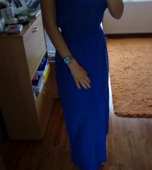 Duga plava haljina - %30 kn%