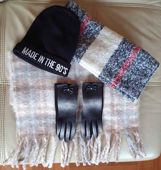 Zimski lot  šalovi rukavice KAPA Prodana